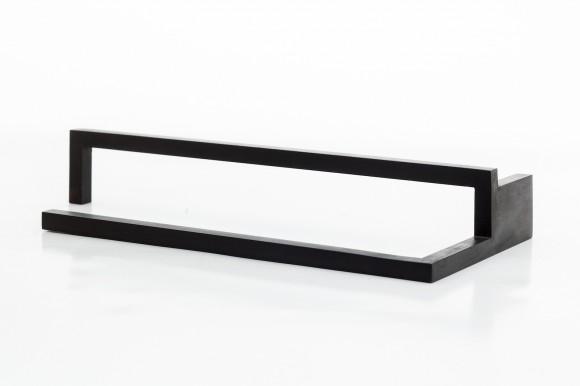 Maqueta de acero patinado