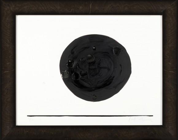Interior de una taca pintura